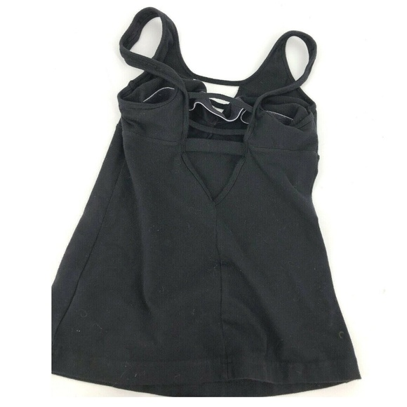 Hard Tail Tops - Hard Tail Strappy Tank Top Cut Out Yoga Large